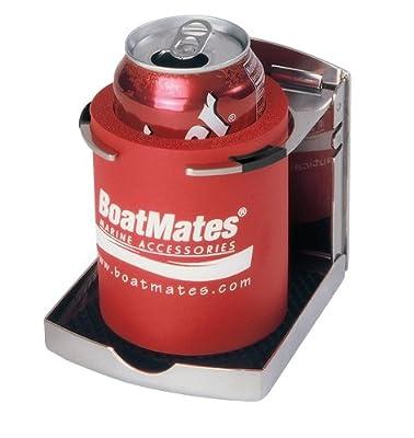 BoatMates Stainless Folding Drink Holder