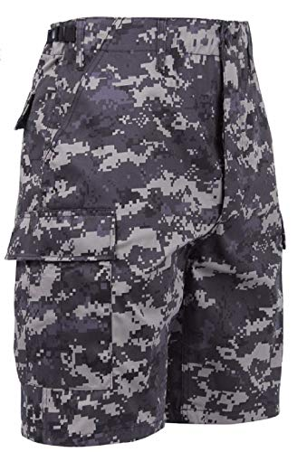 BDU Cargo Shorts Digital Camouflage Military Army Tactical
