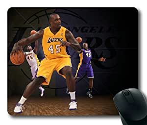 Derrick Caracter, NBA Los Angeles Lakers Mouse Pad/Mouse Mat Rectangle by ieasycenter