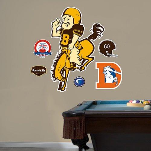 NFL Denver Broncos AFL Logo Wall Graphic