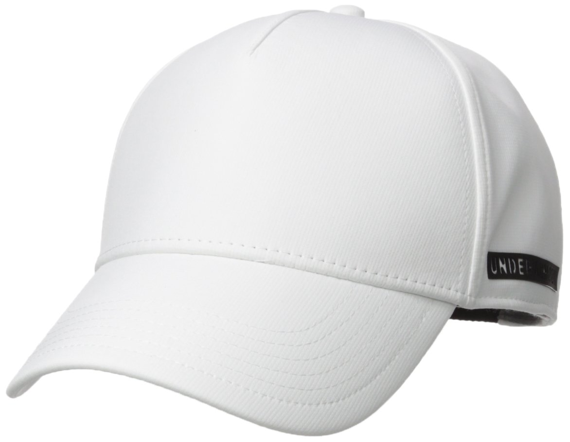 Under Armour Women's Motivator Cap, Black/White, One Size Under Armour Accessories 1306334