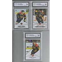 3 CARD ROOKIE LOT CONNOR MCDAVID 2014-15 LEAF ITG TOP PROSPECT SET GEM MINT 10 …