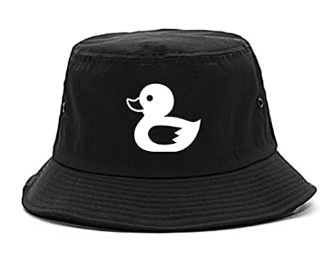 730a6ea9bd6de Rubber Duck Chest Bucket Hat Black. Roll over image to zoom in. Kings Of NY