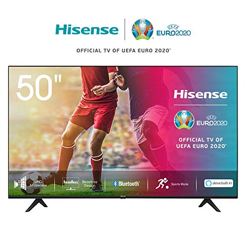 🥇 Hisense UHD TV 2020 50AE7000F – Smart TV Resolución 4K con Alexa integrada