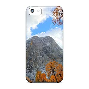 New Premium Flip Cases Covers Mighty Cliffs In Late Autumn Skin Cases For Iphone 5c