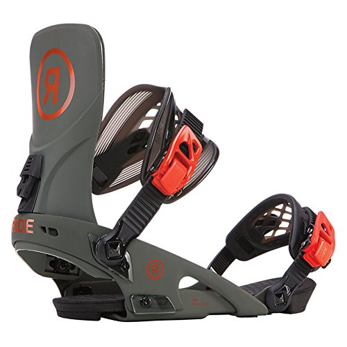 Ride LTD 2018 Snowboard Binding - Men's Olive X-Large (Ltd Bindings)
