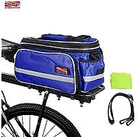 Arltb Bike Rear Bag (3 Colors) 20-35L Waterproof Bicycle...
