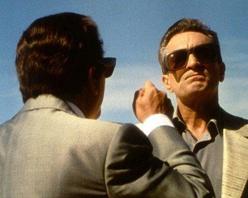 Casino Robert De Niro Joe Pesci Having Argument in Desert 8x10 Promotional - Sunglasses Casino Movie