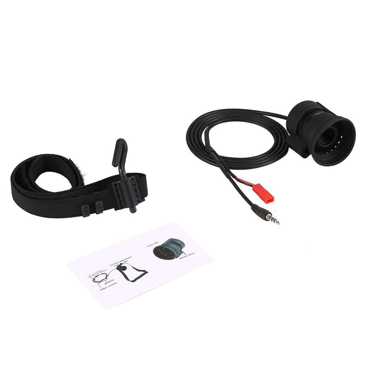 JullyeleDEgant 5.8G Monokulare Displayer mit Gürtel RGB 854  540 HD LCD Monitor FPV Videogläser für RC Drone 750 Version Myopie Adjust
