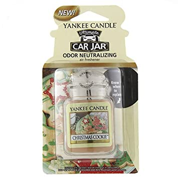 Amazon.com: Yankee Candle Car Jar Ultimate - Christmas Cookie ...