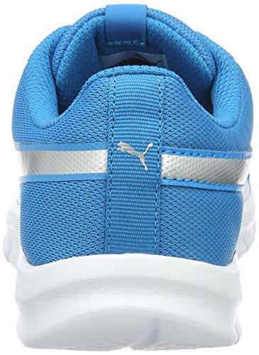 Puma Flexracer Ps, Zapatillas Unisex Niños Azul (Blue Danube-puma Silver 10)