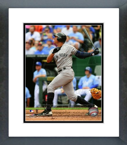 Alex Rodriguez NY Yankees 2012 Batting Framed Picture 8x10 ()