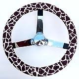 Mana Trading Handmade Steering Wheel Cover Giraffe Print