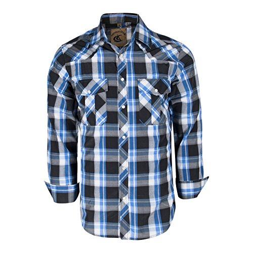 Plaid Button Front Shirt - 3
