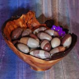 tkjuliemoonrisecrystals 1 Shiva Lingam Ethically Sourced, 1 Inch Tumbled Stone