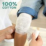 6-Pack Sterile Gauze Medical Bandage Wrap Rolls