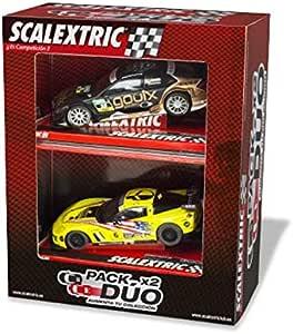 Scalextric Pack 2 Coches Surt.: Amazon.es: Juguetes y juegos