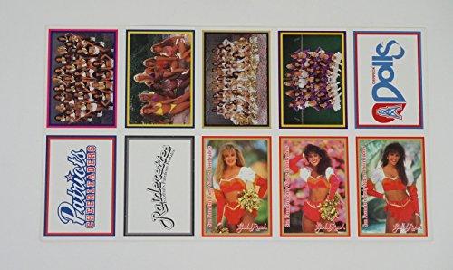 1994 Sideliners Pro Football Cheerleaders Uncut Sheet (10 Cards) (Cheerleader Cards)