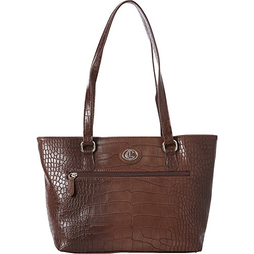aurielle-carryland-crocodile-dundee-tote-brown-taupe