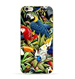 iPhone 8/iPhone 7 Case(4.7inch),Blingy's Creative Animal Design Soft TPU Rubber Case for iPhone 8/iPhone 7 (Parrot Style)