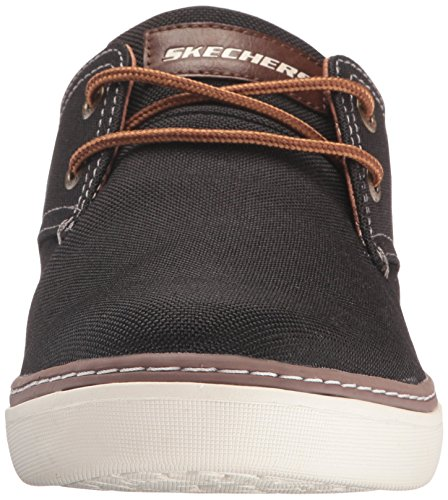 Skechers USA Mens Palen Gadon Oxford Black