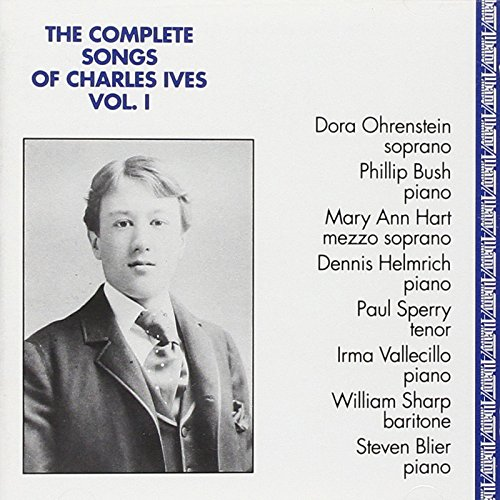 Price comparison product image The Complete Songs of Charles Ives, Vol. 1