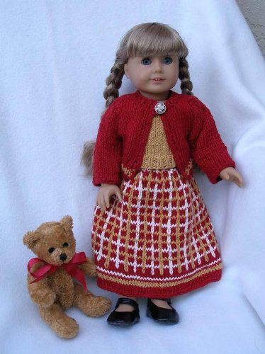 Dressing For The Holidays Knitting Pattern For 18 Inch Dolls