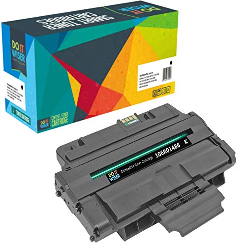 - Do it Wiser Compatible Toner Cartridge for Xerox 106R01486 for Xerox WorkCentre 3210 3220 (Black - 4,000 Pages)
