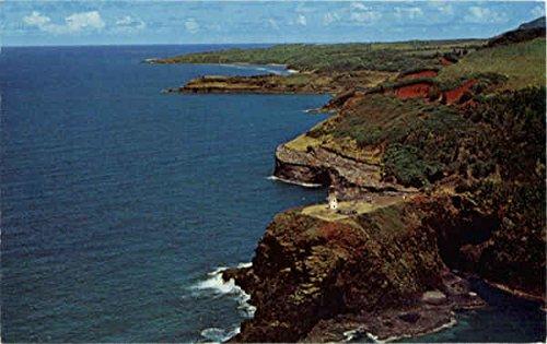 Kilauea Point Light, Kilauea Kauai, Hawaii Original Vintage Postcard