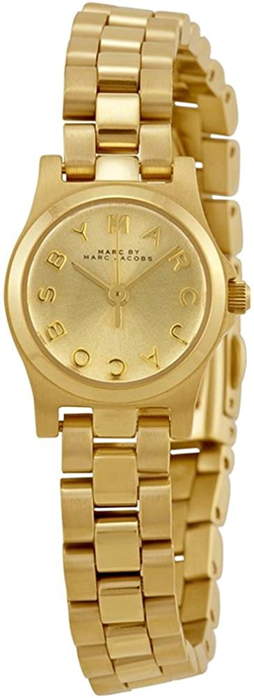 Marc by Marc Jacobs Women s MBM3199 – Henry Dinky Gold