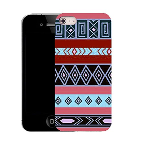 Mobile Case Mate IPhone 4 clip on Silicone Coque couverture case cover Pare-chocs + STYLET - humanity pattern (SILICON)