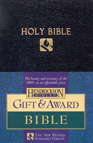 Gift & Award Bible: New Revised Standard Version