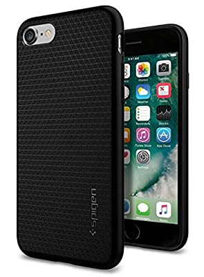 Spigen Liquid Armor iPhone 7 Case with Durable Flex and Easy Grip Design for IPhone 7 2016 - Black from Spigen
