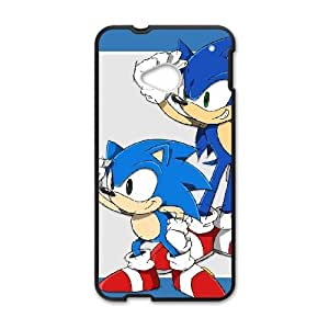HTC One M7 Phone Case Black Sonic the Hedgehog WE9TY653461