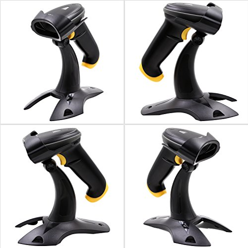 TEEMI 2D barcode scanner with stand USB wired Handheld Automatic QR Data matrix PDF417 bar codes Imager for Mobile Payment Computer Screen Scan support Windows Mac and Linux PC POS by TEEMI (Image #4)