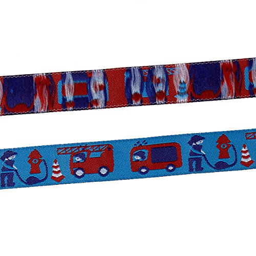 fire truck wrapping paper - 2