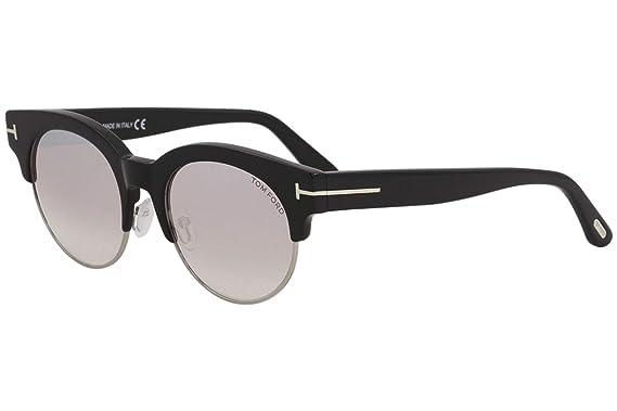 209ccfaec53 Image Unavailable. Image not available for. Color  Sunglasses Tom Ford FT  0598 Henri- 02 01Z shiny black   gradient ...