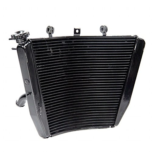 (GOWE Motorcycle Replacement Motorcycle Aluminum Radiator FITS Suzuki GSXR 1000 GSXR1000 2005-2006)
