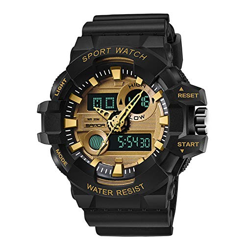 Sports Electronic Watch - Multi-Function Waterproof Chronograph Watch, Large Dial Luminous Watch, Suitable for - High Watch Performance Chronograph
