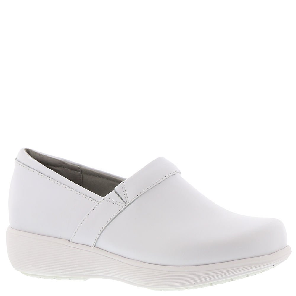 SoftWalk Women's Meredith Clog B07C8FPTMP 8.5 C/D US|White