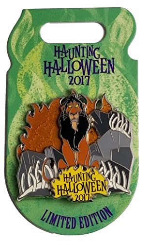 Disney Pin - Haunting Halloween 2017 Villains - Scar -