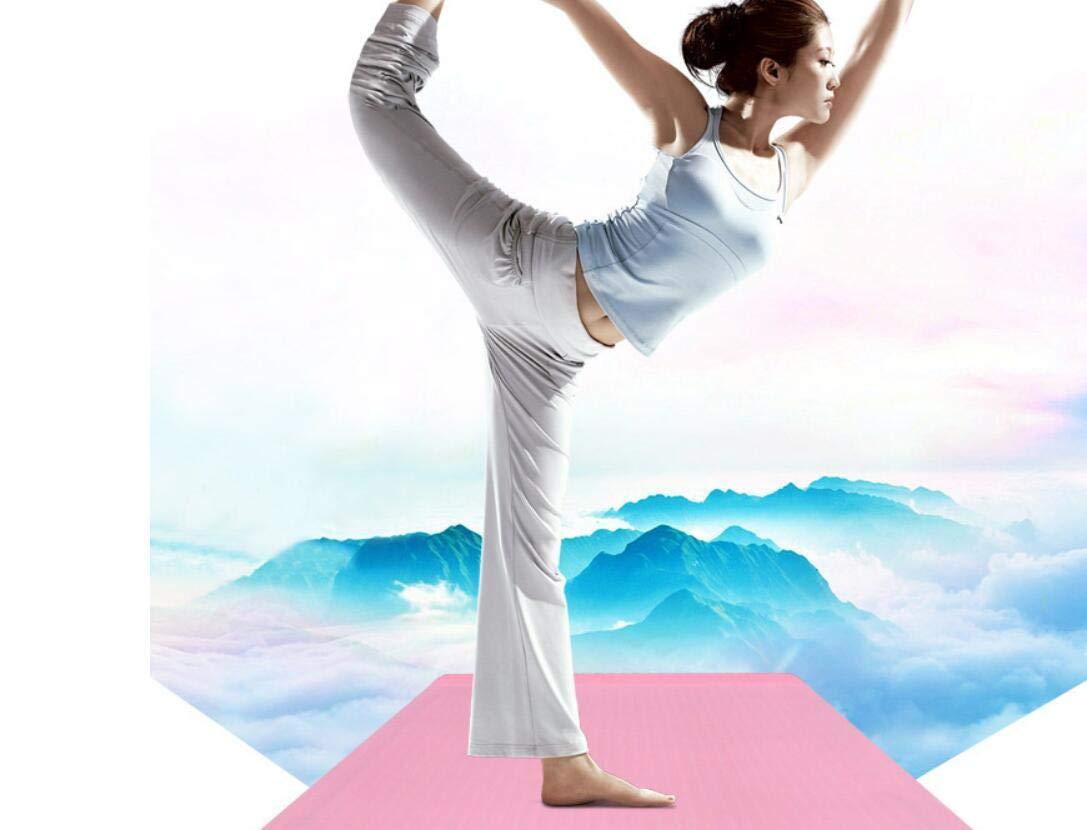 Amazon.com : ATOPCARE Fitness Self-Rolling Yoga Mat Non Slip ...