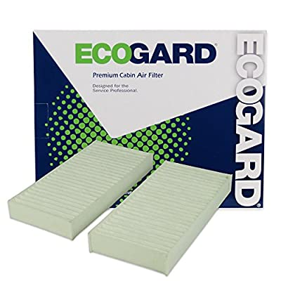 ECOGARD XC10008 Premium Cabin Air Filter Fits Jeep Wrangler 2011-2020, Wrangler JK 2020: Automotive