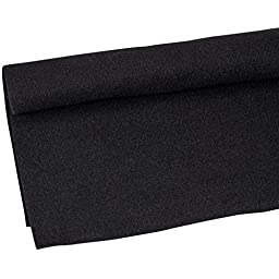 Parts Express Speaker Cabinet Carpet Jet Black Yard 54 - Inch Wide
