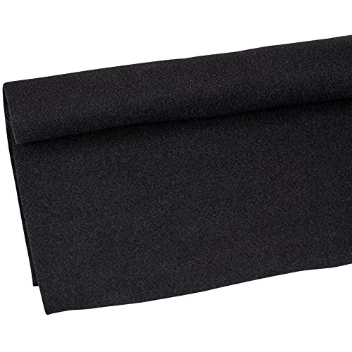 Parts Express Speaker Cabinet Carpet Jet Black Yard 54