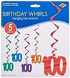 Arts & Crafts : 100 Whirls (asstd colors)    (5/Pkg)