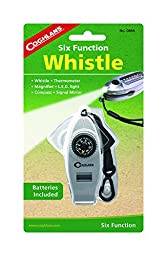 Coghlan\'s Six-Function Whistle with LED Light
