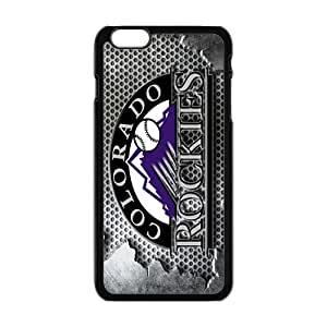 Happy colorado rockies Phone Case for Iphone 6 Plus