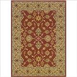 Persian Nadira Rust / Gold Oriental Rug Size: 4' x 5'1''