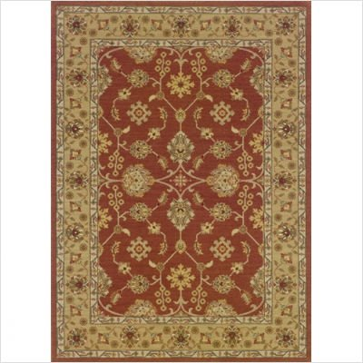 Persian Nadira Rust / Gold Oriental Rug Size: 4' x 5'1'' by Oriental Weavers